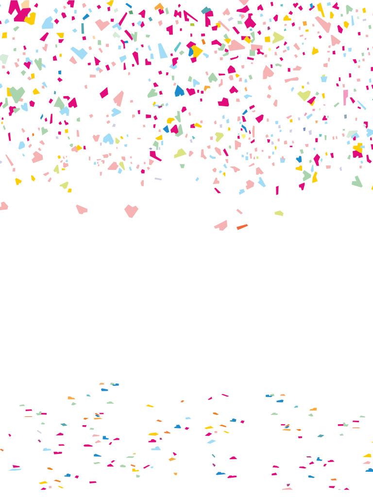 Background image confetti