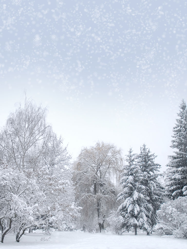 Background image snowy