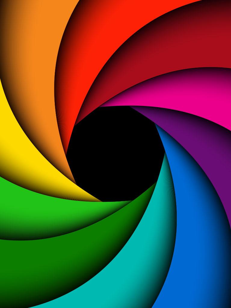 Background image spiral
